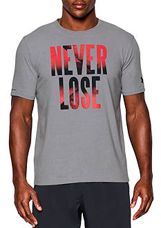 Under Armour Never Lose Tee