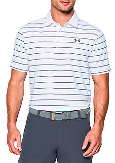 Under Armour Coldblack Swing Plane Stripe Polo Shirt