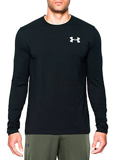 Under Armour Vertical Wordmark Tee