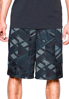 Under Armour® 11-in Triangle O Printed Shorts