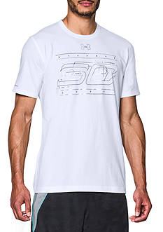 Under Armour Stephen Curry 30 Moniker Tee