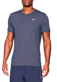 Under Armour Streaker V-Neck Short Sleeve T-Shirt