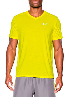 Under Armour® Streaker V-Neck Short Sleeve T-Shirt