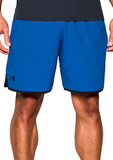 Under Armour 9-in. Qualifier Novelty Shorts