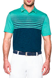 Under Armour® CoolSwitch Upright Stripe Polo Shirt