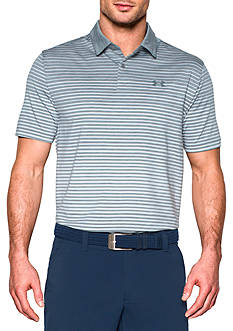 Under Armour CoolSwitch Trajectory Stripe Polo Shirt