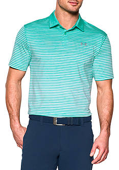 Under Armour® CoolSwitch Trajectory Stripe Polo Shirt