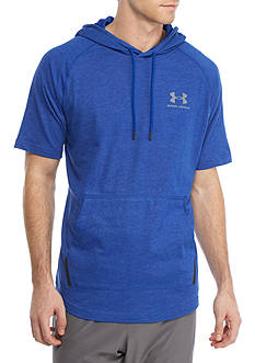 Under Armour® Short Sleeve Drawstring Hoodie
