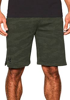 Under Armour Camo Fleece Shorts