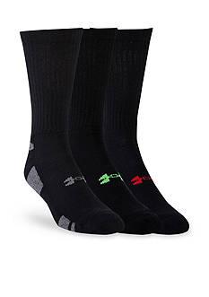 Under Armour Big & Tall HeatGear® Crew Socks