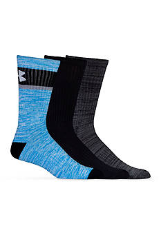 Under Armour Twisted Crew Socks - 3 Pack