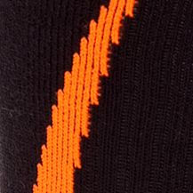 Young Mens Activewear: Socks: Blaze Orange/Black Under Armour Undeniable Crew Socks
