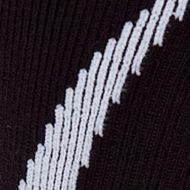 Big and Tall Socks: Black/White Under Armour Big & Tall Undeniable Crew No Show Socks