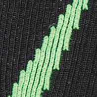 Big and Tall Socks: Blak/Hyper Green Under Armour Big & Tall Undeniable Crew No Show Socks