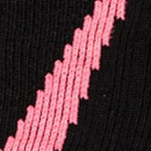 Big and Tall Socks: Black / Cerise Under Armour Big & Tall Undeniable Crew No Show Socks
