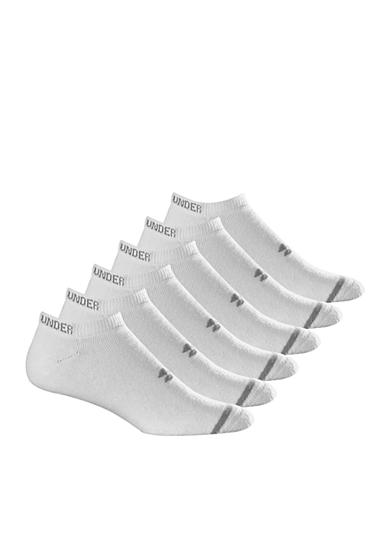 Under Armour® 6-Pack Charged Cotton Athletic No-Show Sport Socks