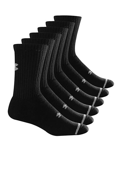 Under Armour® 6-Pack Athletic Crew Sport Socks
