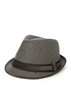 Colombino 2 Tone Wool Fedora Hat