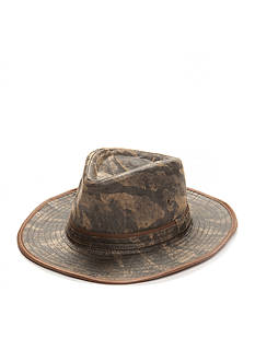Colombino New Washed Camo Fedora Hat