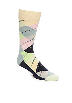 Happy Socks Pastel Argyle Socks - Single Pair