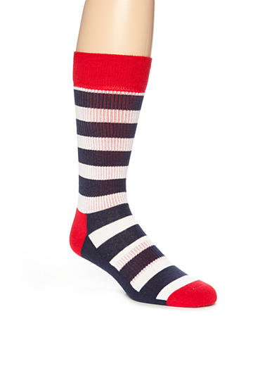 Happy Socks® Striped Athletic Socks - Single Pair
