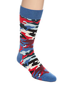 Happy Socks Men's Bark Crew Socks - Single Pair