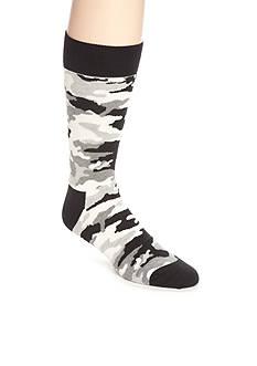 Happy Socks Men's Camo Crew Socks - Single Pair