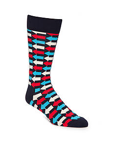 Happy Socks Arrows Crew Socks - Single Pair