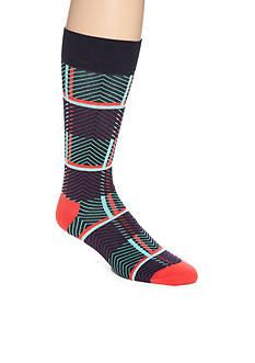 Happy Socks Iris Tarta Crew Socks- Single Pair