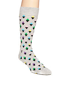 Happy Socks Men's Mini Diamond Crew Socks - Single Pair