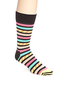 Happy Socks Men's Stars & Stripes Crew Socks - Single Pair