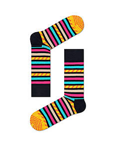 Happy Socks Stripes & Stripes Socks - Single Pair