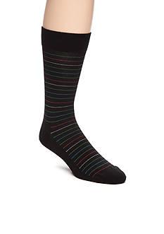 Happy Socks Men's Christmas Multi Stripe Crew Socks - Single Pair