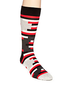 Happy Socks Men's Stripe Off Crew Socks - Single Pair