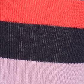Young Men: Happy Socks Underwear & Socks: Navy Combo Happy Socks Men's Stripe Crew Socks - Single Pair