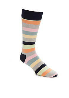 Happy Socks Big & Tall Multi Stripe Print- Single Pair