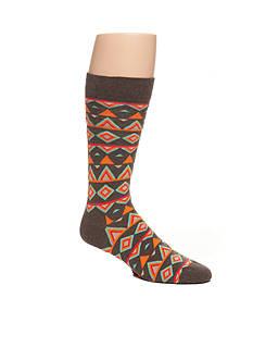 Happy Socks Temple Crew Socks - Single Pair