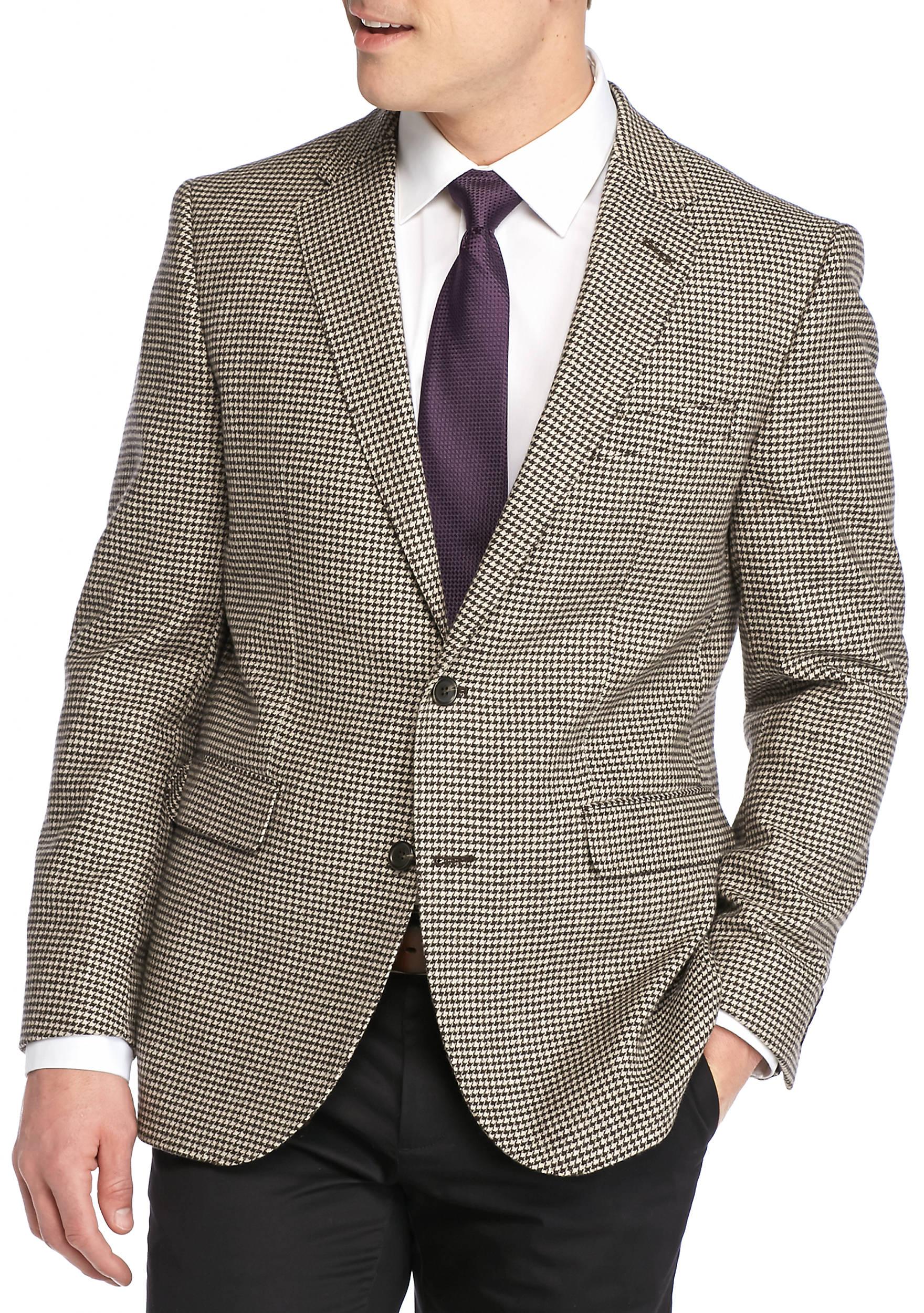 Dockers® Brown Houndstooth Sport Coat   belk