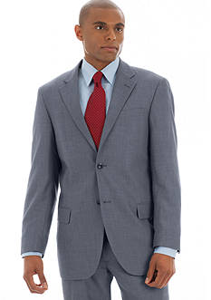 Dockers Classic Fit Gray Sharkskin Suit Separate Coat