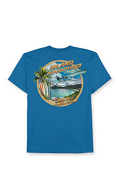 Saddlebred® Big & Tall Island Adventures Printed Graphic Tee