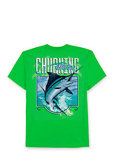 Saddlebred Big & Tall Churning Waters Short Sleeve Graphic Tee