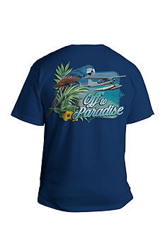 Saddlebred® Big & Tall Off To Paradise Graphic Tee