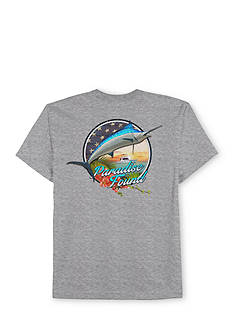 Saddlebred® Big & Tall Paradise Found Short Sleeve Graphic Tee
