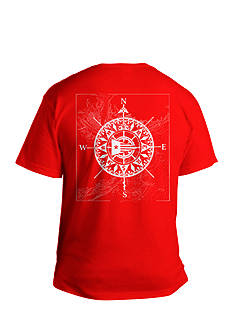 Saddlebred® Big & Tall Compass Directional Graphic Tee