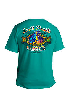 Saddlebred® Big & Tall South Pacific Paradise Cove Graphic Tee
