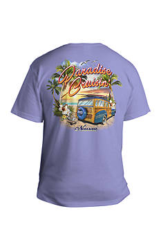 Saddlebred® Big & Tall Paradise Cruisin' Short Sleeve Graphic Tee