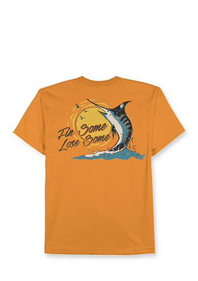 Saddlebred® Big & Tall Fin Some Lose Some Graphic Tee