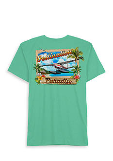 Saddlebred® Short Sleeve Destinations Graphic Tee