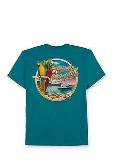 Saddlebred® Big & Tall Birds of Paradise Short Sleeve Graphic Tee