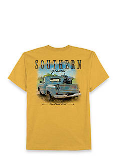 Saddlebred® Big & Tall Homegrown Truck Short Sleeve Graphic Tee
